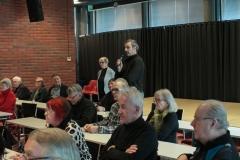 Keskustelutilaisuus vanhustenhoidosta Keravalla helmikuussa.