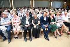 Kolmen aluejärjestön juhla Varkaudessa kesäkuussa.