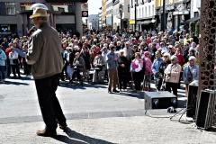 Kolmen aluejärjestön juhla Oulussa elokuussa.