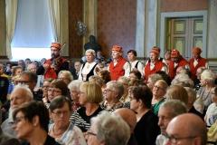 Pohjanmaan ja Keski-Suomen aluejärjestöjen  juhla Vaasan kaupungintalolla syyskuussa,.