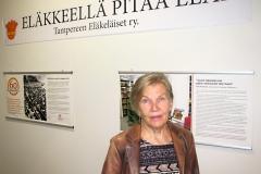 Kiertävä juhlanäyttely Tampereella Työväenmuseo Werstaassa elo-syyskuun vaihteessa.