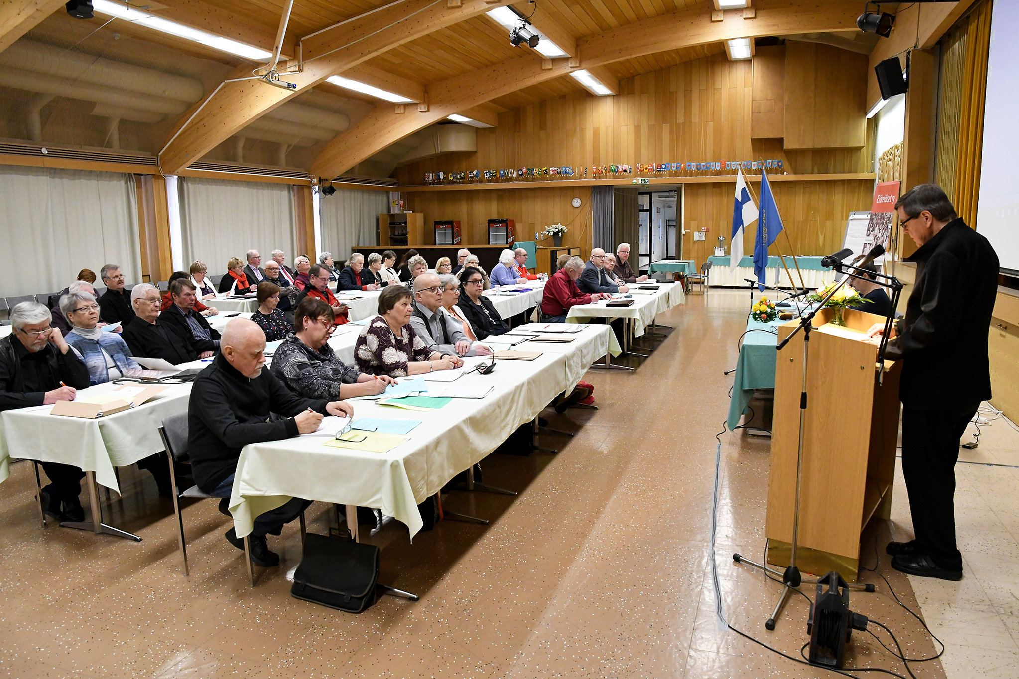 Eläkeläiset ry:n valtuusto aloitti keskiviikkona kokouksensa Kuntorannassa. Torstaina vuorossa on valtuuston seminaari.